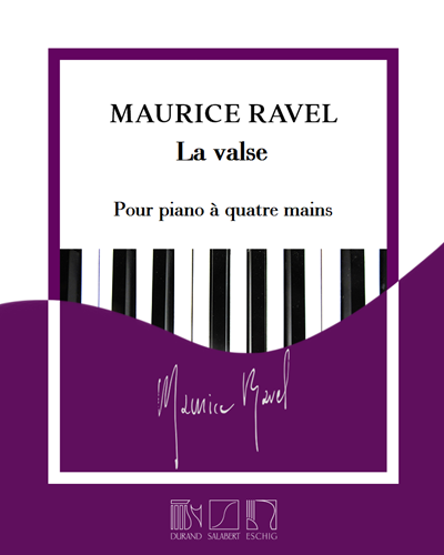 La valse - Transcription pour piano à quatre mains