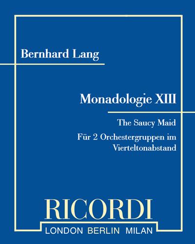 "Monadologie XIII ""The Saucy Maid"""