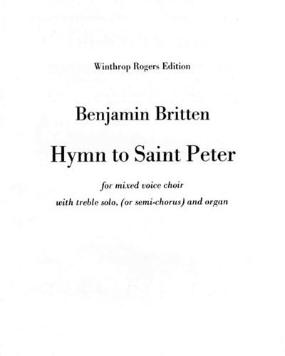 Hymn to Saint Peter, op. 56a