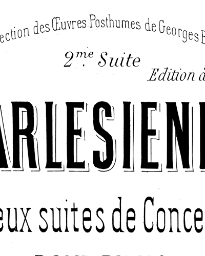L'Arlésienne Suite No. 2