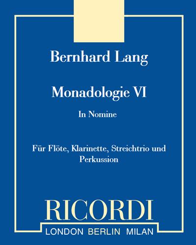 """Monadologie VI """"In Nomine"""""""