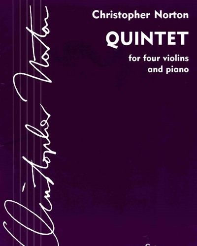 Quintet for Four Violins & Piano