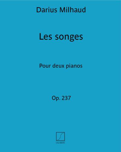 """Les songes (d'après le ballet """"Les songes"""" Op. 237)"""