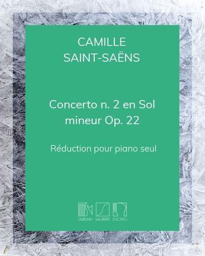 Concerto n. 2 en Sol mineur Op. 22 - Réduction pour piano seul