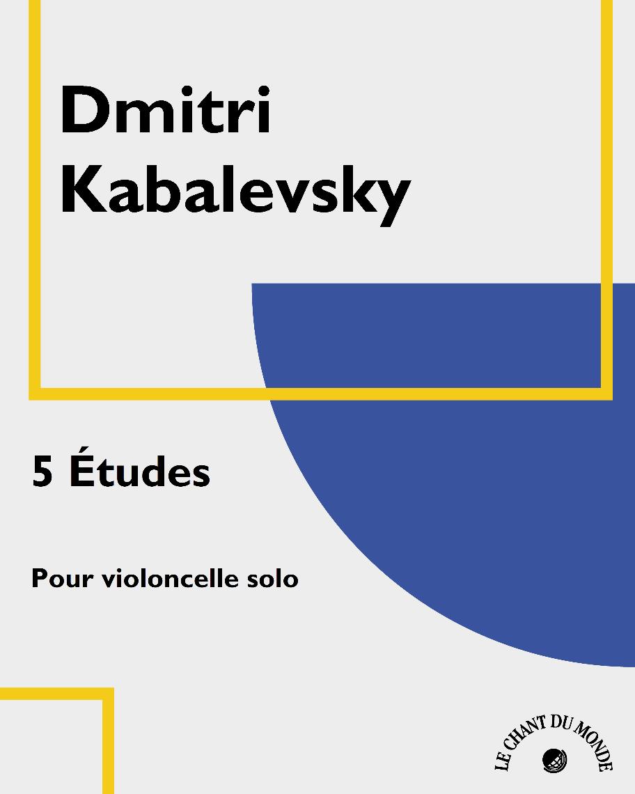 5 Études pour violoncelle solo