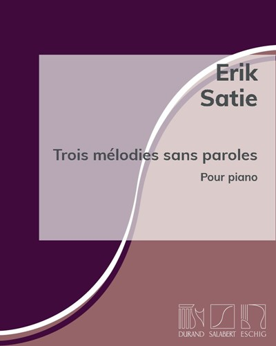 Trois mélodies sans paroles