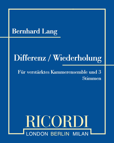 Differenz / Wiederholung 2