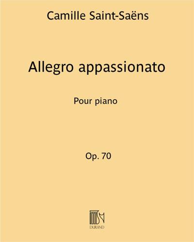 Allegro appassionato Op. 70