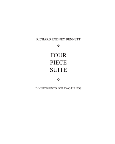 Four Piece Suite