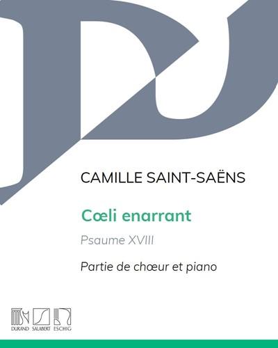 """Cœli enarrant, Psaume XVIII (n. 1 """"Introdution et choeur"""") Op. 42"""