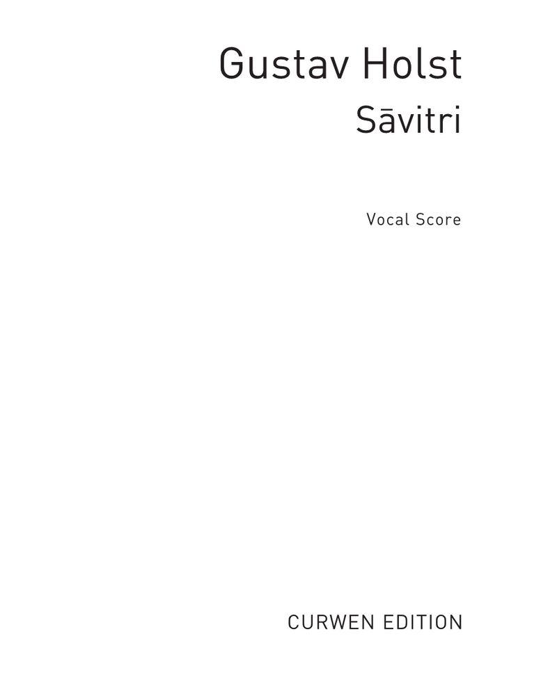 Sāvitri, Op. 25
