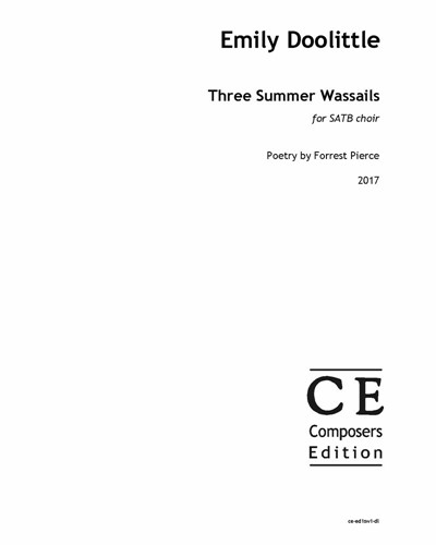 Three Summer Wassails