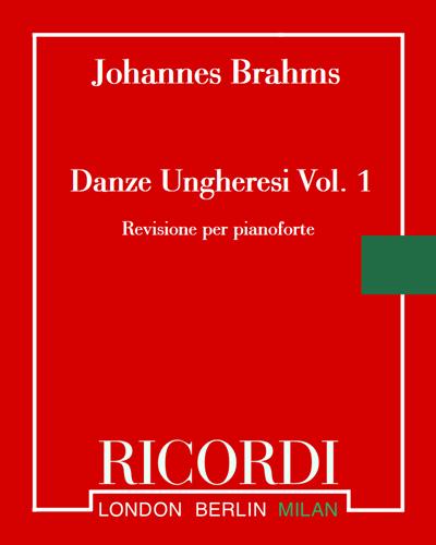 Danze ungheresi Vol. 1 (n. 1-10)