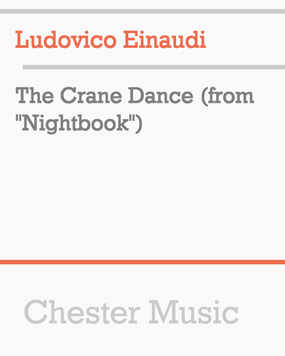 "The Crane Dance (from ""Nightbook"")"