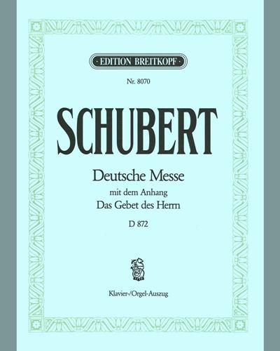 Deutsche Messe F-dur D 872