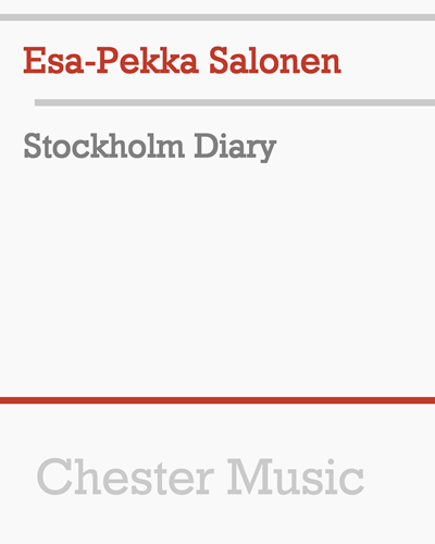 Stockholm Diary