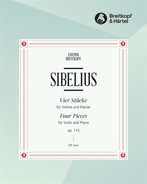 4 Stücke op. 115 - Nr. 1 bis 4