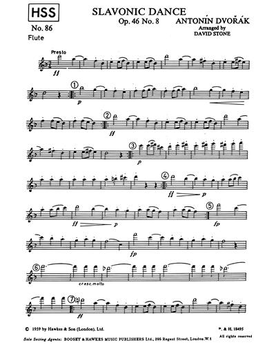 Slavonic Dance, op. 46/8