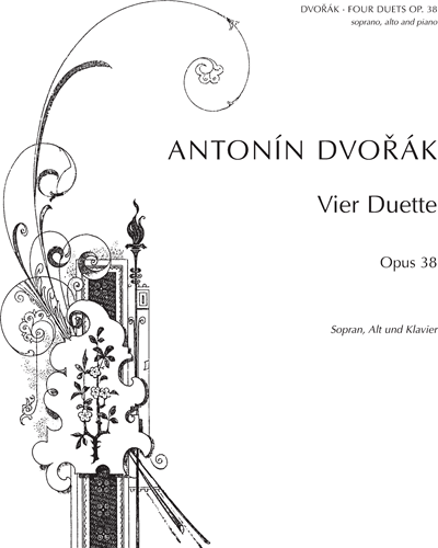 Four Duets for Voices & Piano, op. 38