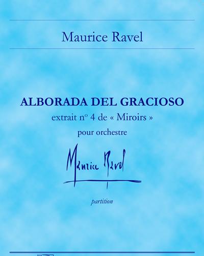 """Alborada del gracioso (extrait n. 4 de """"Miroirs"""")"""