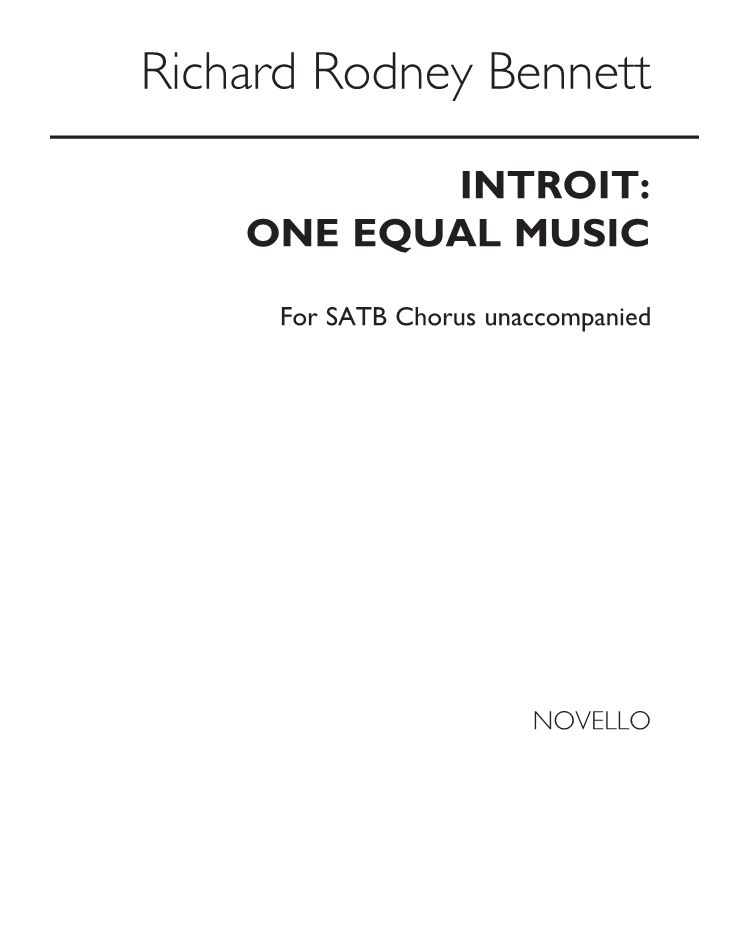 Introit: One Equal Music