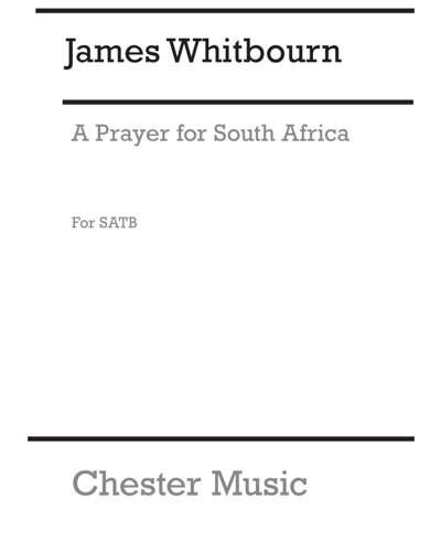 A Prayer from South Africa