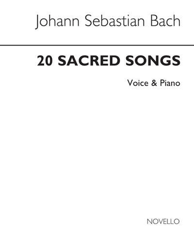 "20 Sacred Songs (from the ""Schemelli Gesangbuch"")"