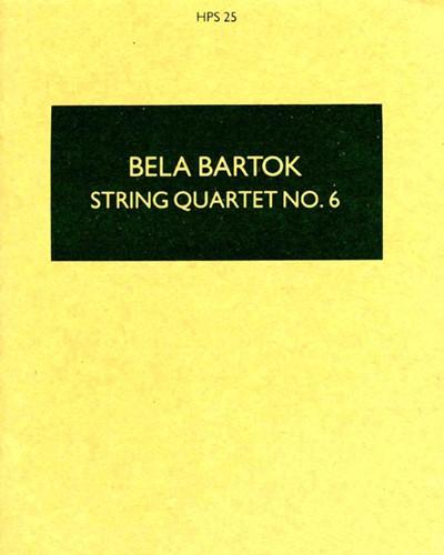 String Quartet No. 6, Sz. 114