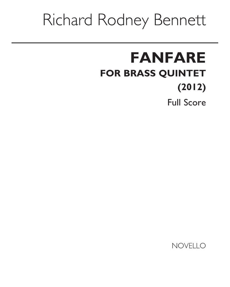 Fanfare for Brass Quintet
