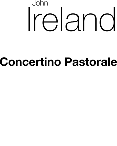 Concertino Pastorale