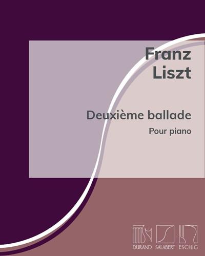 Deuxième ballade pour piano
