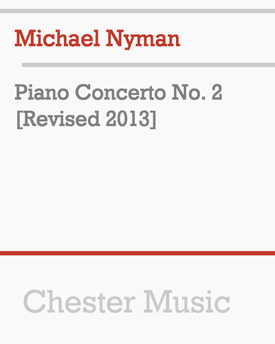 Piano Concerto No. 2 [Revised 2013]