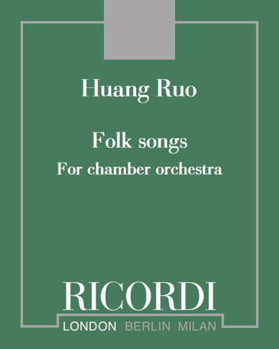 Folk songs for chamber orchestra