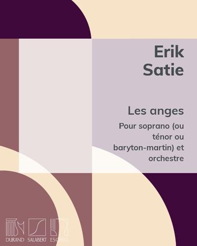 """Les anges (extrait de """"5 mélodies"""" Op. 19)"""