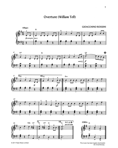 Overture from 'William Tell'