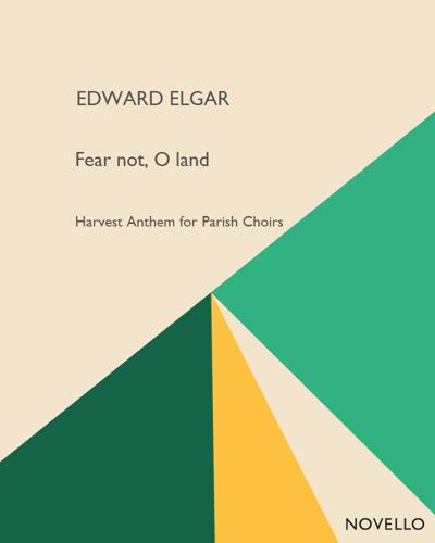 Fear not, O land