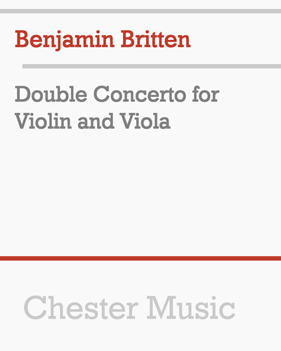 Double Concerto for Violin and Viola
