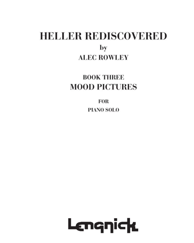 Heller Rediscovered, Book 3