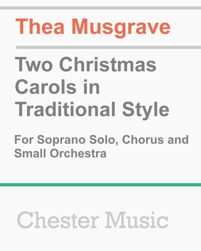 Two Christmas Carols in Traditional Style