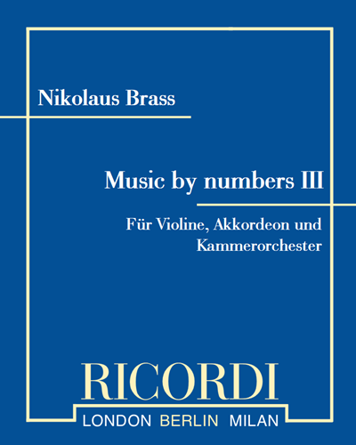 Music by numbers III
