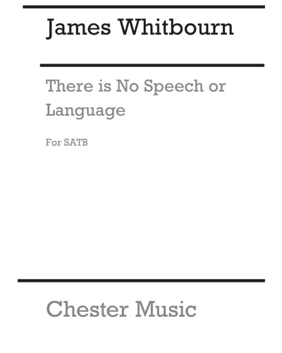 """There is no speech or language (from """"Annelies"""")"""