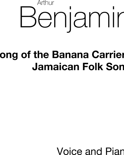 Song of the Banana Carriers