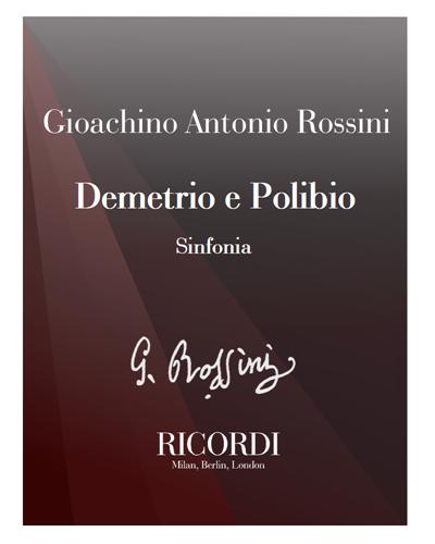 Demetrio e Polibio [Critical Edition] - Sinfonia