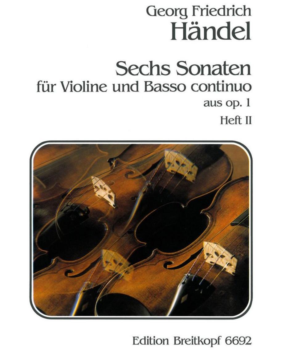 6 Sonaten op. 1 - Heft 2