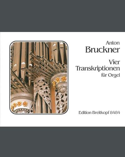 4 Transkriptionen für Orgel