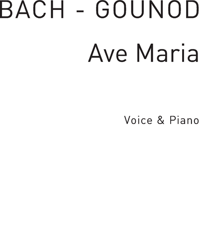 Ave Maria No. 3 in F Major