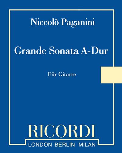 Grande Sonata A-Dur