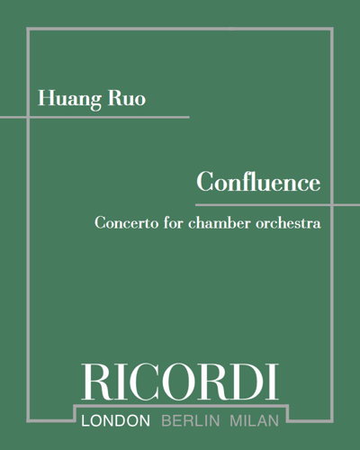 Confluence - Concerto for chamber orchestra