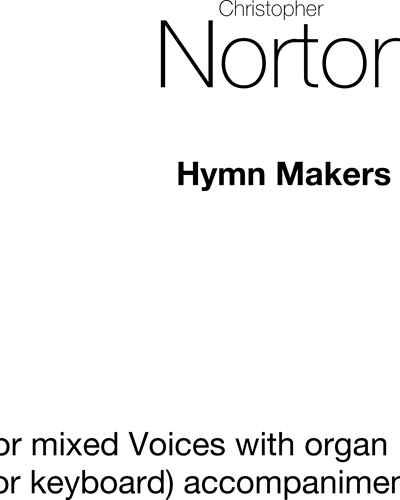 The Hymn Makers 1