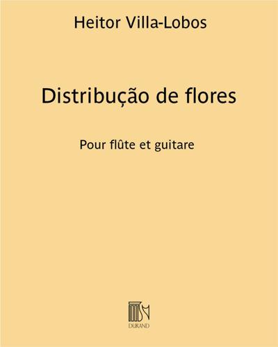 Distribução de flores (Distribution de fleurs)